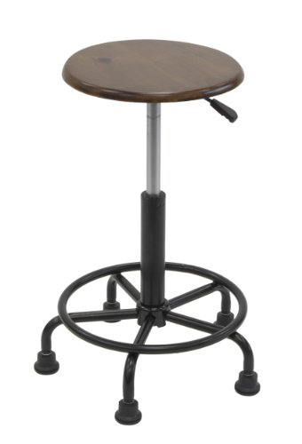 Studio Designs 13307 Retro Stool, Rustic Oak (Stools Antique Wooden)