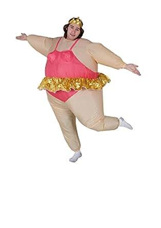 Maconaz Inflatable Ballerina Costume-Standard