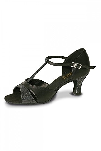Ladies Black Roch Valley Priscilla Shoe Ballroom 1fqE0wqn