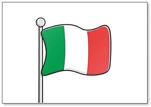 Flag of Italy FRIDGE MAGNET