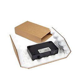 5e4ec0db805 25 x Brown Foam Lined Slider Cardboard Boxes - Choice of Sizes Available  (270mm x 160mm x 70mm) - Ref AFSB16  Amazon.co.uk  Office Products