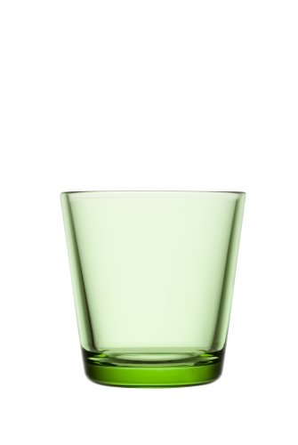 Iittala Kartio 7-Ounce Tumbler, Apple Green, Set of (Kartio Light)