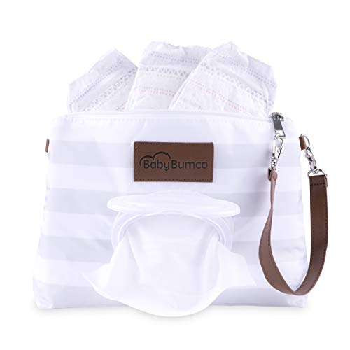 Diaper Clutch - Water Resistant; Lightweight; Refillable Wip