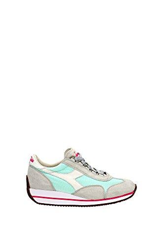Sw W Sneakers Donna Canvas HH Equipe Diadora Heritage Suede Grigio Bianco wBtqx8I