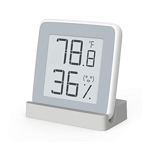 MiaoMiaoCe Digital Hygrometer Thermometer Indoor, Humidity Monitor with Temperature Gauge Humidity Meter, E-Ink Screen Multifunctional Hygrometer for Baby, Kids, Home, Car, Office, etc.