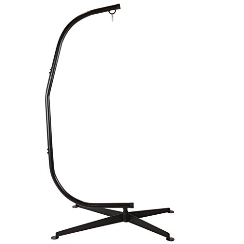 C Hammock Stand Solid Steel Chair Stand Air Porch Swing Chair 80 Inch Tall