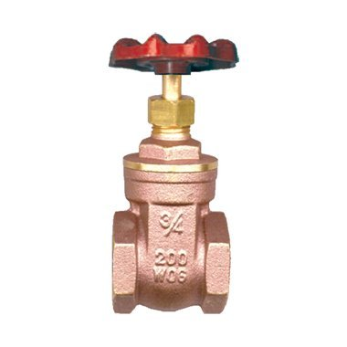 Gate Valve Female to Female 3/8 inch NPT Female inch NPT FIP FPT FIP FPT 200 PSI Water Oil Gas WOG from FASPARTS