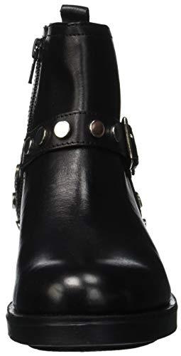 Damen Tisha Boots Lumberjack Black Nero Cb001 Biker qTHnf1nO