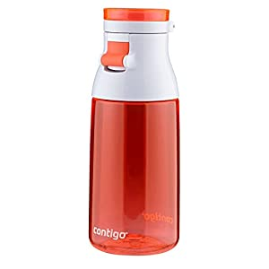 Contigo Jackie Kids Water Bottle, 17-Ounce, Tango Pink