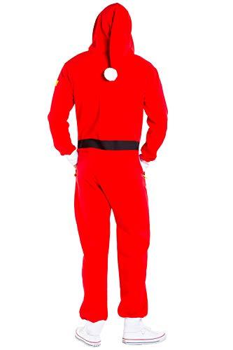 Tipsy Onesie - Adult Santa Jumpsuit