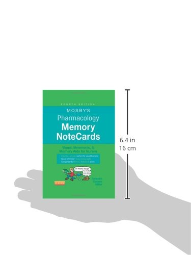Mosby's Pharmacology Memory NoteCards: Visual, Mnemonic, and Memory Aids for Nurses - http://medicalbooks.filipinodoctors.org