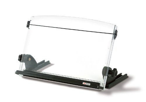 3M Adjustable Document Copy Holder, In-line with Monitor ...