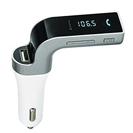 Jx2 G7 Bluetooth de voiture Bluetooth transmetteur FM universel sans fil FM de voiture adaptateur radio kit voiture avec main libre appel sté ré o 4 modes Musique jouer carte TF & U-disk lecture pour tous les systè me