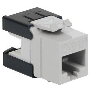 (BIN ICC Cat6A Insert Module, HD,White (IC1078GAWH))