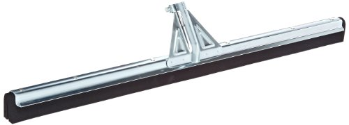 Impact 7030 Standard Heavy duty Moss Floor Squeegee with Splash Guard and Reinforced Adjustable Handle Socket on Frame, 30'' Width x 2'' Height, Black (Case of 10) by Impact Products