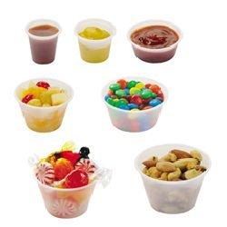 Soufle Cup (4 OZ. TRANSLUCENT PLASTIC SOUFLE CUPS 20/250)