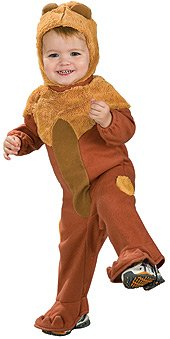 Cute Cowardly Lion Costumes (Wizard Of Oz Cowardly Lion Romper Costume, 1 to 6 Months)
