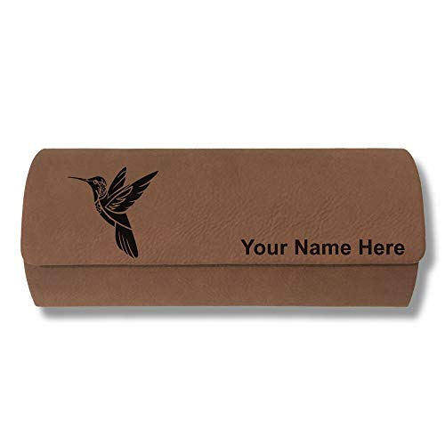 Sunglass Case Hummingbird Personalized Engraving Included