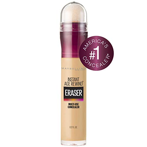 Maybelline Instant Age Rewind Eraser Dark Circles Treatment Multi-Use Concealer, Sand, 0.2 Fl Oz, 1 Count