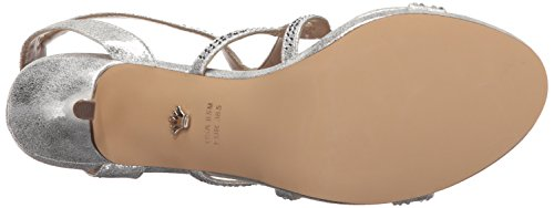 Varsha Skylight Sandal Yf Nina Women's Silver Dress 15vwWPCq