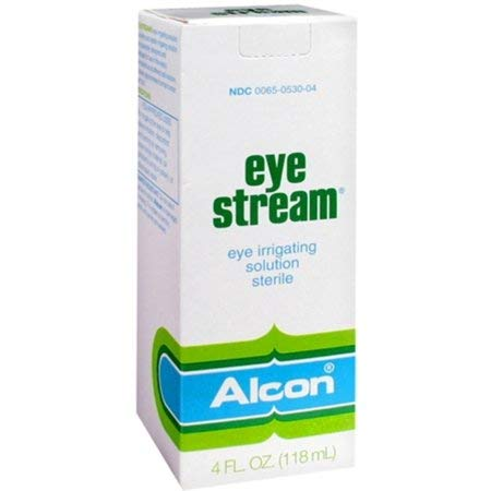 Eye Stream Solution by Alcon - 4 oz, Pack of 2