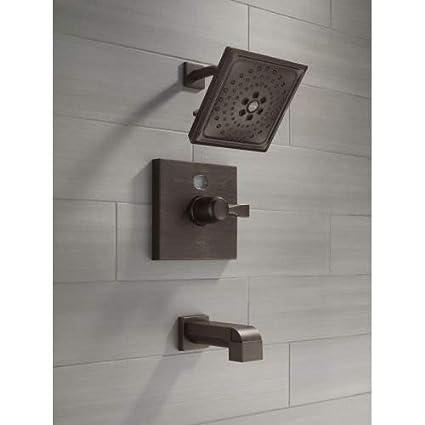 Venetian Bronze Delta Faucet RP51034RB Shower Flange Tub and Shower