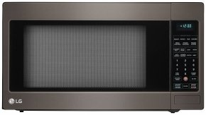 LCRT2010BD 24″ 2 cu. ft. Capacity Countertop Microwave with 1200 in Black Stainless Steel