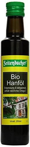 Seitenbacher Bio Hanf Öl rein nativ, kaltgepresst/1 Pressung, 1er Pack (1 x 250 g)