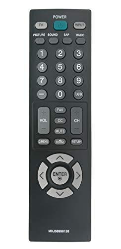 MKJ36998126 Replaced Remote fit for LG TV 32LV2400 42LV4400 47LV4400 55LV4400 32LV2400-UA 47LV4400-UA 55LV4400-UA 42LV4400-UA 32LV2400UA 47LV4400UA 55LV4400UA 42LV4400UA