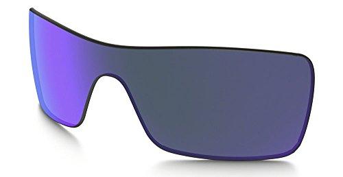 Oakley Batwolf Replacement Lenses Violet Iridium - Iridium Violet Lens Oakley