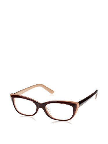VALENTINO Eyeglasses V2661 205 Striped Brown Nude - Frames Valentino