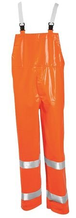 Tingley Rubber - O53129 - Flame Resistant Rain Overall, Orange, XL