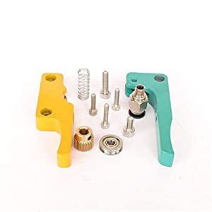 Xianyundian mk8 extruder bowden aluminum alloy, feed gear, quick connector,3d printer accessories repair parts (size : with motor bracket)