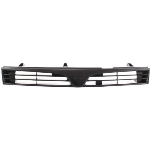 Go-Parts ª OE Replacement for 1997-2002 Mitsubishi Mirage Grille Assembly MR748059 MI1200215 for Mitsubishi Mirage ()