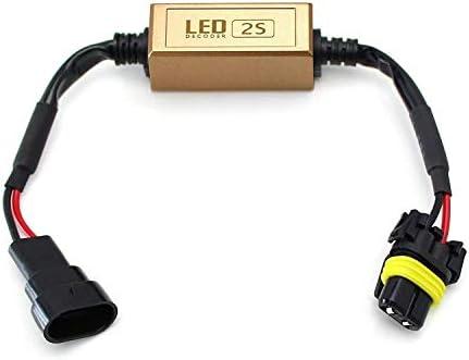 Amazon.com: iJDMTOY (2) 9006 HB4 LED Faro Faro Antiparpadeo ...
