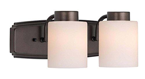 Dolan Designs 3502-62 Westport 2 Light bath bar, Heirloom Bronze ()
