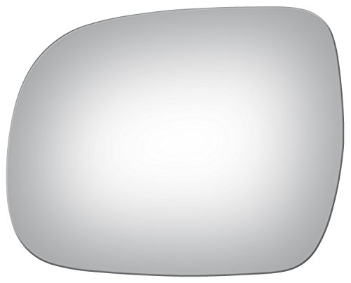Burco 4007 Flat Driver Side Replacement Mirror Glass for 04-10 Toyota Sienna (2004, 2005, 2006, 2007, 2008, 2009, 2010) - Driver Sienna
