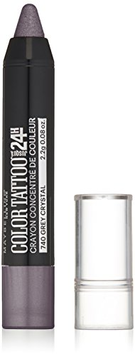 Maybelline New York Eyestudio Colortattoo Concentrated Crayon Eye Color, Lavish Lavender, 0.08 Ounce