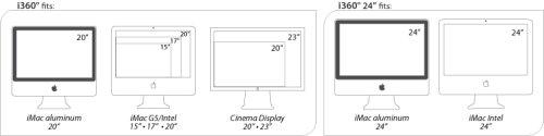Rain Design i360 Turntable for iMac/Thunderbolt Display