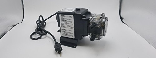 Stenner Pump 85MPHP5 - Stenner Peristaltic Pump Fixed Head - Rated at 5 GPD Fixed Head. Rated at 100 psi. - Ideal Chlorine Injection Pump. 120 Volts, Model Number 85MFH1 ()