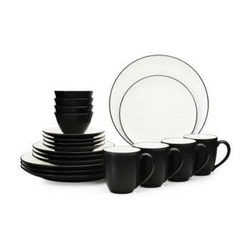 Colorwave 20 Piece Dinnerware Set  sc 1 st  Amazon.com & Amazon.com | Colorwave 20 Piece Dinnerware Set: Dinnerware Sets ...