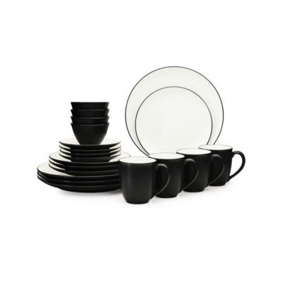 - Colorwave 20 Piece Dinnerware Set