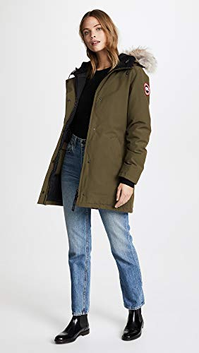 3037L Green Ladies Victoria Military 3037L Parka Canada 49 Goose wzYw8