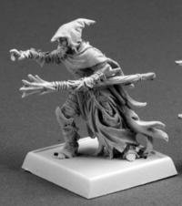 Reaper Dramorion, Dark Elf Sorcerer 14630 by Miniatures