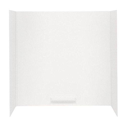 Swanstone WW-6000-010 Whirlpool Tub Wall Kit, White, 5-Piece by Swanstone