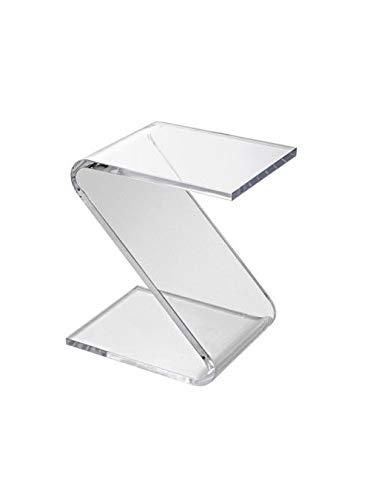 Tavolo Da Salotto In Plexiglass.Plexcollection Tavolino Da Salotto In Plexiglas Amazon It