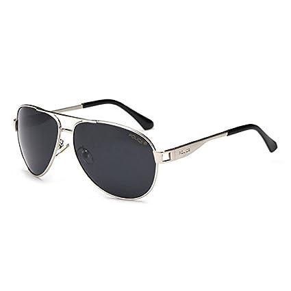 b649bd471e Kicode Astilla De los Hombres Gafas de Sol de la policía Gafas de Sapo  Deportes al