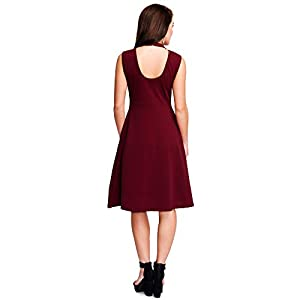 ADDYVERO Women's Cotton A-Line Dress