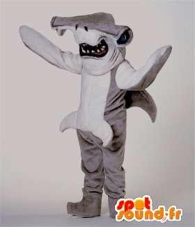 Representando un traje tiburón martillo: Amazon.es: Juguetes ...