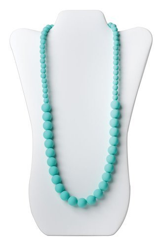 Bumkins Nixi Ciclo Silicone Teething Necklace, Turquoise by Bumkins [並行輸入品]   B00ZSS4P32